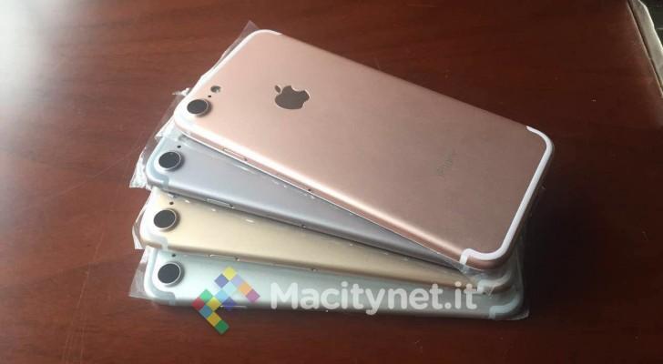 اولین عکس از چهار رنگ iPhone 7 منتشر شد